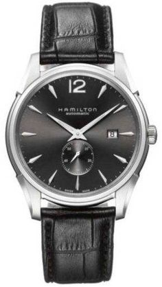 @hamiltonwfan Watch Jazzmaster Slim #360-image-yes #bezel-fixed #bracelet-strap-leather #brand-hamilton #case-material-steel #case-width-43mm #date-yes #delivery-timescale-7-10-days #dial-colour-black #gender-mens #limited-code #luxury #movement-automatic #official-stockist-for-hamilton-watches #packaging-hamilton-watch-packaging #subcat-jazzmaster #supplier-model-no-h38655785 #warranty-hamilton-official-2-year-guarantee #water-resistant-30m