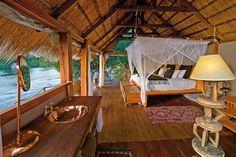 Zambia | Sindabezi Island #travel                                                        Sindabezi Island