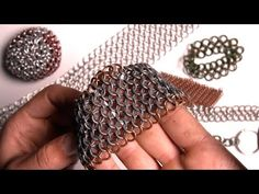 How to Make Dragonscale Chain Maille - YouTube
