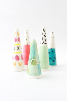 Ring cones by Quiet Clementine