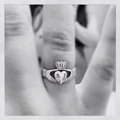 My Claddagh ring. Friendship, Loyalty, Love.