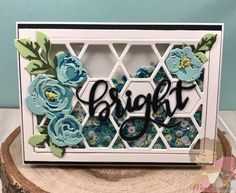Inspire Create Art Word Dies #Die cut I Card, Brand Names, Decorative Boxes, Card Making, Scrapbook, Lettering, Create, Words, How To Make