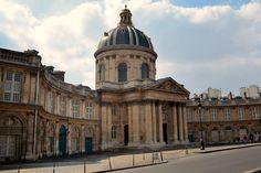 Institut de France,  by louis le vau 1662-70 & francois d orbay, 1670-88, Paris, France