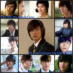 Proof that Lee Min Ho could be an elf.