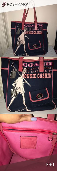 Coach Bonnie Cashin Tote Bag 💕 not made anymore! Coach Bonnie Cashin Tote Bag  💕 not made anymore! 💕 few scuff marks but is in amazing condition and hardly noticeable. Only used three times 💕 Coach Bags
