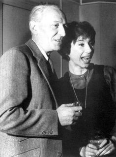 William Hartnell and Carole Ann Ford