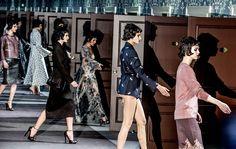 Paris Fashion Week: Louis Vuitton | Spazi di Lusso  http://www.spazidilusso.it/paris-fashion-week-louis-vuitton/