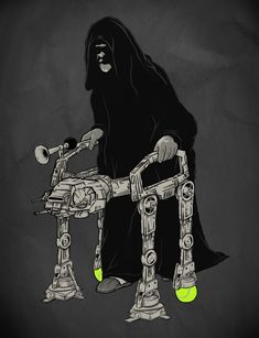 You're never too old for an Imperial Walker - Imgur
