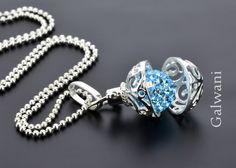 Silberketten - KETTE ENGELSRUFER, 925 SILBER, SILBERSCHMUCK BOLA - ein Designerstück von GALWANI bei DaWanda