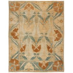 Continental Arts and Crafts Rug   From a unique collection of antique and modern more carpets at http://www.1stdibs.com/furniture/rugs-carpets/area-rugs-carpets/