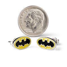 Batman Stud Earrings | ThinkGeek