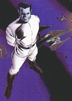 Grand Admiral Thrawn- Star Wars Expanded Universe (Gran Almirante Thrawn del Universo Expandido de S.Wars) creado por Timothy Zahn
