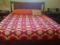 funky cool bedspread on Flickr