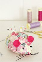 Pin cushion cuteness! I need one now I got my own sewing machine!