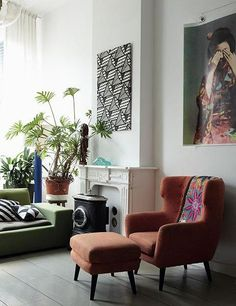 A Colorful Guide to Bohemian-Chic Decorating: Living Area