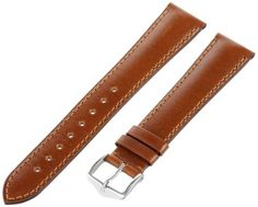 Hirsch 042020-70-19 19 -mm  Genuine Calfskin Watch Strap -- You can find more details by visiting the image link.