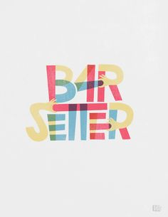 Barsetter designed by Viet Huynh. the global community for designers and creative professionals. Typography Logo, Graphic Design Typography, Lettering Design, Hand Lettering, Lettering Ideas, Logos, Typography Inspiration, Logo Design Inspiration, Self Branding