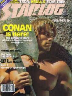 Pop Art: Conan Movie Magazine Covers - My Design Ideas 2019 Movie Magazine, Book And Magazine, Magazine Covers, Conan The Barbarian 1982, Conan O Barbaro, Conan Movie, What Is Fashion Designing, Fantasy Movies, Fantasy Art