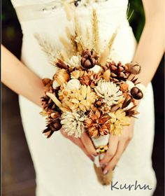 Milk and Honey Bridal Bouquet, Rustic Wedding bouquet, Dried flower bouquet Romantic Wedding Flowers, Prom Flowers, Fall Wedding Bouquets, Bridesmaid Bouquets, Bridal Bouquets, Wedding Dresses, Dried Flower Bouquet, Dried Flowers, Rustic Wedding