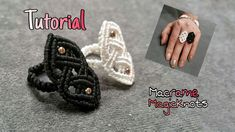 Celtic Ring ♥ How To Make Celtic Knot ♥ Macrame Magic Knots - YouTub., Macrame Celtic Ring ♥ How To Make Celtic Knot ♥ Macrame Magic Knots - YouTub. Macrame Rings, Macrame Bag, Macrame Knots, Macrame Jewelry, Macrame Bracelets, Loom Bracelets, Friendship Bracelets, Tutorial Anillo, Ring Tutorial
