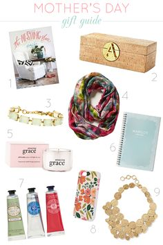 Mother's Day Gift Guide - lots of great ideas for mom now or anytime! It's Coming, Amazing Grace, Gift Guide, Sunday, Things To Come, Gift Ideas, Mom, Gifts, Domingo