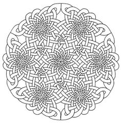 celtic mandala coloring pages bing images
