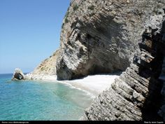 Hidden beach near Canj
