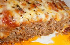 Skinny Pizza Meatloaf - Weight Watchers Recipes