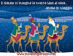 La cartolina di auguri di Natale 2013 dagli hotel del gruppo incomingarezzo