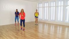 Denise Austin's Walk With Me Workout: Fitness instructor Denise Austin shares an easy and energetic cardio workout that can be done in your living room.