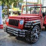 Jeep Wrangler Can Construction  Konstrukcja z puszek  www.voyagerclub.pl