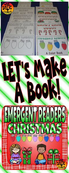 This resource includes 102 pages of Christmas themed emergent readers (13 versions of 5 different books). The books include literacy, math, sight words, tracing, writing, counting, number sets, sequencing (putting the pages in numerical order), colors, emotions, and more. For kindergarten, preschool, SPED, child care, homeschool, or any early childhood setting.