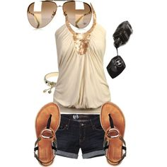 """""""Beach style. """" by xsieemaa on Polyvore"""
