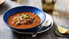 Slow-cooker Moroccan harira soup