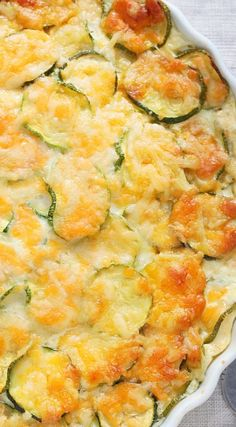Crustless Zucchini Quiche