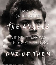 The thing that's the best about Dean, not just monsters, but HUNTERS tremble when they hear his name.