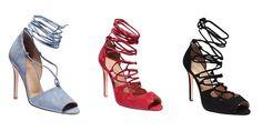 İnci Bilekten Bağcıklı Topuklu Ayakkabı Modelleri 2016