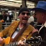 Jimmy Fallon And U2 Busk In New York City Subway In Disguise - http://clickfodder.com/jimmy-fallon-and-u2-busk-in-new-york-city-subway-in-disguise/