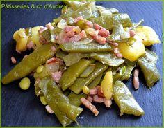 Découvrez la recette poêlée haricot plat / pommes de terre / oignons / lardons sur cuisineactuelle.fr.