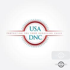 USA DNC  |  Featured Logo Design  |  logobids.com  |  #logo #design