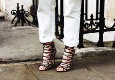 Love these Zara heels! LFW - FashionHoax | creatorsofdesire.com