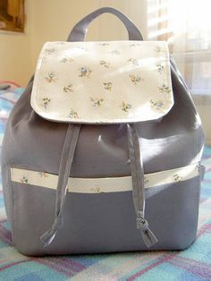 The City Backpack - Free Sewing Tutorial by The Heart of Mary