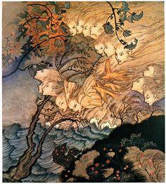 The Tempest, Arthur Rackham