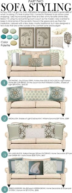 House Happy: Sofa Styling Part Two