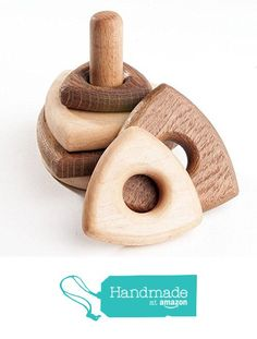 Educational Toy. Wooden Stacker. Stacking Toy for Kids. Wood Toy. Wooden Stacking Toy. Stacker Blocks. Montessori Toy. Waldorf Toy from WoodStoreGifts https://www.amazon.com/dp/B01FIDZYCW/ref=hnd_sw_r_pi_dp_gslnxbMCSK7YD #handmadeatamazon