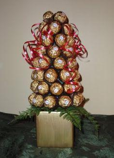 Ferrero Rocher Chocolates Topiary