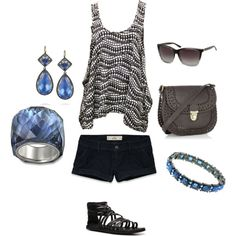 Cute summer going out outfit!