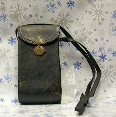 Antique Kodak Leather Camera Case by CanemahStudios on Etsy, $15.00