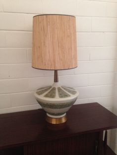 Mid Century Modern Table Lamp Ceramic Cream Retro 3-Way Vintage Pottery by TakeFiveVintage on Etsy https://www.etsy.com/listing/459080716/mid-century-modern-table-lamp-ceramic