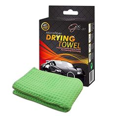 Glis10 Premium 25x40 Car Wash Microfiber Drying Towel Waffle Weave Cloth for Auto Care Cleaning or Use With Washing Kit 1pack FREE eBook ** Click image to review more details.Note:It is affiliate link to Amazon.